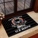 Veteran Welcome Rug, I May Not Have A PhD But I Do Have A DD-214 Doormat - Spreadstores