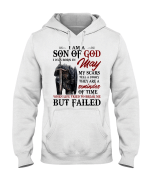 Veterans Shirt - I Am A Son Of God I Was Born In May My Scars Tell A Story Hoodies - Spreadstores