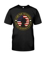 Veteran Shirt, Female Veteran, I Am The Veteran And Veteran's Sister Unisex T-Shirt KM3105 - Spreadstores