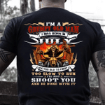 Veteran T-Shirt, Gift For Dad, I'm A Grumpy Old Man I Was Born In July T-Shirt - Spreadstores