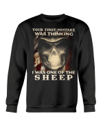 Veteran Shirt, Your First Mistake Was Thinking I Was One Of The Sheep Crewneck Sweatshirt - Spreadstores