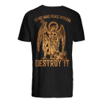 Veteran Shirt, Father's Day Shirt, Do Not Make Peace With Evil Destroy It T-Shirt KM2705 - Spreadstores