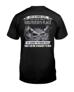 Veteran Shirt, Dad Shirt, Ain't No Woman Alive That Could Take My Girlfriend's Place T-Shirt KM1806 - Spreadstores
