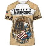 Veteran Shirt, Marine Corps Veteran, USMC Veteran, These Color Don't Run 3D Shirt All Over Printed Shirts - Spreadstores
