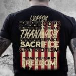 Veteran Shirt, Veteran Day Gift, Veterans Day Unisex T-Shirt, U.S Veteran, I Support Our Troops T-Shirt - Spreadstores