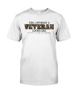 Veteran Shirt, Female Veteran, I Am What A Veteran Looks Like Unisex T-Shirt KM3105 - Spreadstores