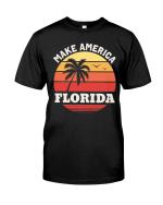 Veteran Shirt, Dad Shirt, Funny Shirt, Make America Florida T-Shirt KM1606 - Spreadstores