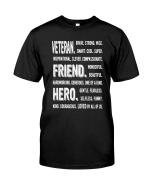 Veteran Shirt, Gift For Veteran, Veteran's Day, Veteran Friend Hero T-Shirt KM0106 - Spreadstores