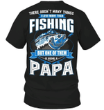 Veteran Shirt, Fishing Shirt, I Love More Than Fishing, Father's Day Gift For Dad KM1404 - Spreadstores