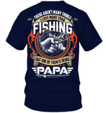 Veteran Shirt, Fishing Shirt, I Love More Than Fishing, One Of Them Is Being Papa, Father's Day Gift For Dad KM1404 - Spreadstores