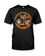 Veteran Shirt, Female Veteran, Daughter Veteran, The Best Dads Have Daughters Unisex T-Shirt KM0106 - Spreadstores