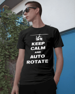 Veteran Shirt, Keep Calm Auto Rotate Classic T-Shirt, Father's Day Gift For Dad KM1204 - Spreadstores