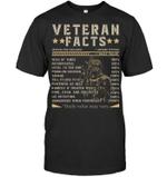 Veteran Shirt, Dad Shirt, Gifts For Veteran, U.S Veterans, Veteran Facts T-Shirt KM1106 - Spreadstores