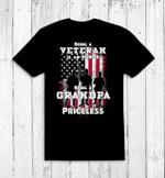 Veteran Shirt, Custom Shirt, Being Veteran Is An Honor, Gifts For Grandpa T-Shirt KM0107 - Spreadstores
