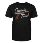Veteran Shirt, Gun Shirt, Classically Trained T-Shirt KM0908 - Spreadstores