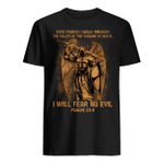 Veteran Shirt, Father's Day Shirt, Even Though I Walk Through, I Will Fear No Evil T-Shirt KM2705 - Spreadstores