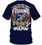 Veteran Shirt, Fishing Shirt, More Than Fishing, One Of Them Is Being Papa V3, Father's Day Gift For Dad KM1404 - Spreadstores
