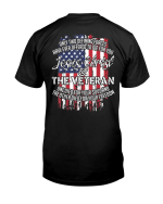 Veteran Shirt, Dad Shirt, Gifts For Dad, Jesus Christ And The Veteran T-Shirt KM0806 - Spreadstores