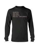 Veteran Shirt, Military Shirt, Grandpa The Man The Myth The Bad Influence Long Sleeve - Spreadstores