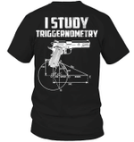 Veteran Shirt, Gun Shirt, Veteran I Study Triggernometry T-Shirt KM0207 - Spreadstores