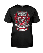 Veteran Shirt, Father's Day Shirt, Gifts For Dad, American By Birth Soldier By Choice T-Shirt KM0806 - Spreadstores