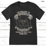 Veteran Shirt, I'm Willing To Die For My Rights, Are You Willing To Die T-Shirt KM0608 - Spreadstores