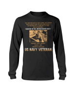 Veteran Shirt, I Once Took A Solemn Oath To Defend The Constitution Double Side Printed Long Sleeve - Spreadstores
