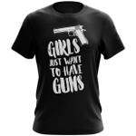 Veteran Shirt, Gun Shirt, Girls Just Want To Have Guns T-Shirt KM0308 - Spreadstores