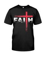 Veteran Shirt, Christian Shirt, Christian Faith Cross KM2907 - Spreadstores