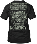 Veteran Shirt, Veteran Day Gift, Veterans Day Unisex T-Shirt, If They Stand Behind You T-Shirt - Spreadstores