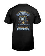 Veteran Shirt, Dad Shirt, Gifts For Dad, Keeping Our Country Free Veteran T-Shirt KM0806 - Spreadstores