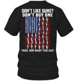 Veteran Shirt, Dad Shirt, Gun T-Shirt, Don't Like Guns - Don't Buy One T-Shirt KM1406 - Spreadstores