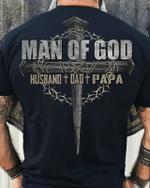 Veteran Shirt, Father's Day Shirt, Man Of God Husband Dad Papa T-Shirt KM2805 - Spreadstores