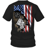 Veteran Shirt, Father's Day Shirt, Gifts For Dad, I Walked The Walk Marine T-Shirt KM2805 - Spreadstores