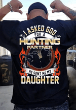 Veteran Shirt, Hunting Shirt, My Daughter- Best Hunting Partner, Father's Day Gift For Dad KM1404 - Spreadstores
