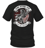 Veteran Shirt, Gun Shirt, Guns Offend You? For Two Testicles T-Shirt KM0207 - Spreadstores