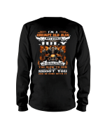Veteran Shirt, I'm A Grumpy Old Man I Was Born In July I'll Just Shoot You, Birthday's Gift Ideas Long Sleeve - Spreadstores