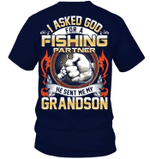 Veteran Shirt, Fishing Shirt, Fishing Partner - Grandpa And Grandson, Father's Day Gift For Dad KM1404 - Spreadstores