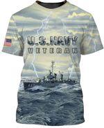 Veteran Shirt, Navy Veteran, U.S Navy Veteran, Gift For Veteran All 3D Shirt All Over Printed Shirts - Spreadstores