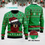 Dachshund Christmas Funny Ugly Sweater Adult For Men & Women