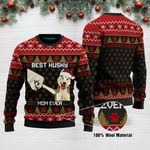 Best Husky Mom Ever Funny Ugly Christmas Sweater Adult For Men & Women