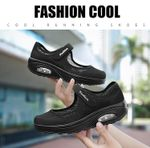 Women's Stretchable Breathable Walking Shoes