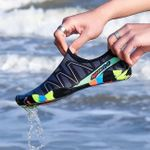 Womens and Mens Quick-Drying Aqua Swimming Shoes
