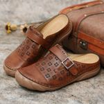 2021 Women's hollow carved casual sandals