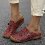 Comfortable Retro Backless Flat Comfy Sandals