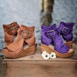 Women's Orthopedic Buckle Sandals