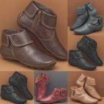 CASUAL COMFY DAILY SIDE-ZIPPER MARTIN BOOTS