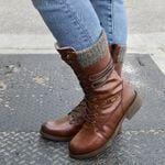 Women's Leather Warm Comfortable Boots
