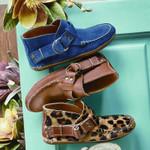 Women's All Season Flat Heel Buckle Boots