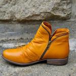 Women's Zipper Leather Comfortable Boots